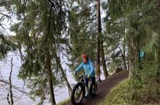 FAT tõukerattamatk Talvepealinn Otepää Pühajärve matkarajal